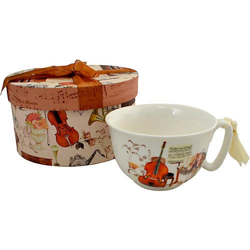 AIM Cup and Saucer Elegant Music With Gift Box thumbnail