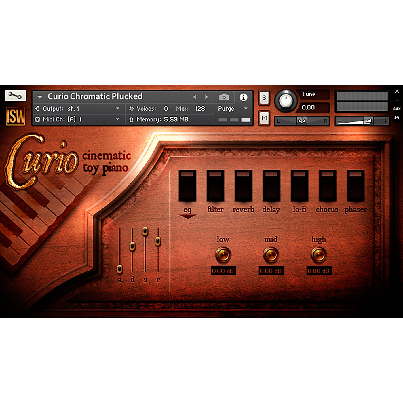 Impact Soundworks Curio: Cinematic Toy Piano (Download) thumbnail