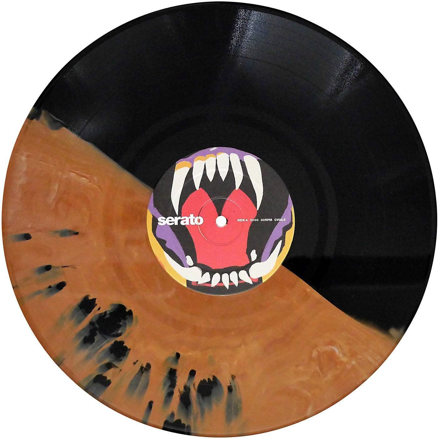 SERATO Cursed #2 Fangs Under the Full Moon! Halloween NoiseMap Timecode Control Vinyl Pair thumbnail