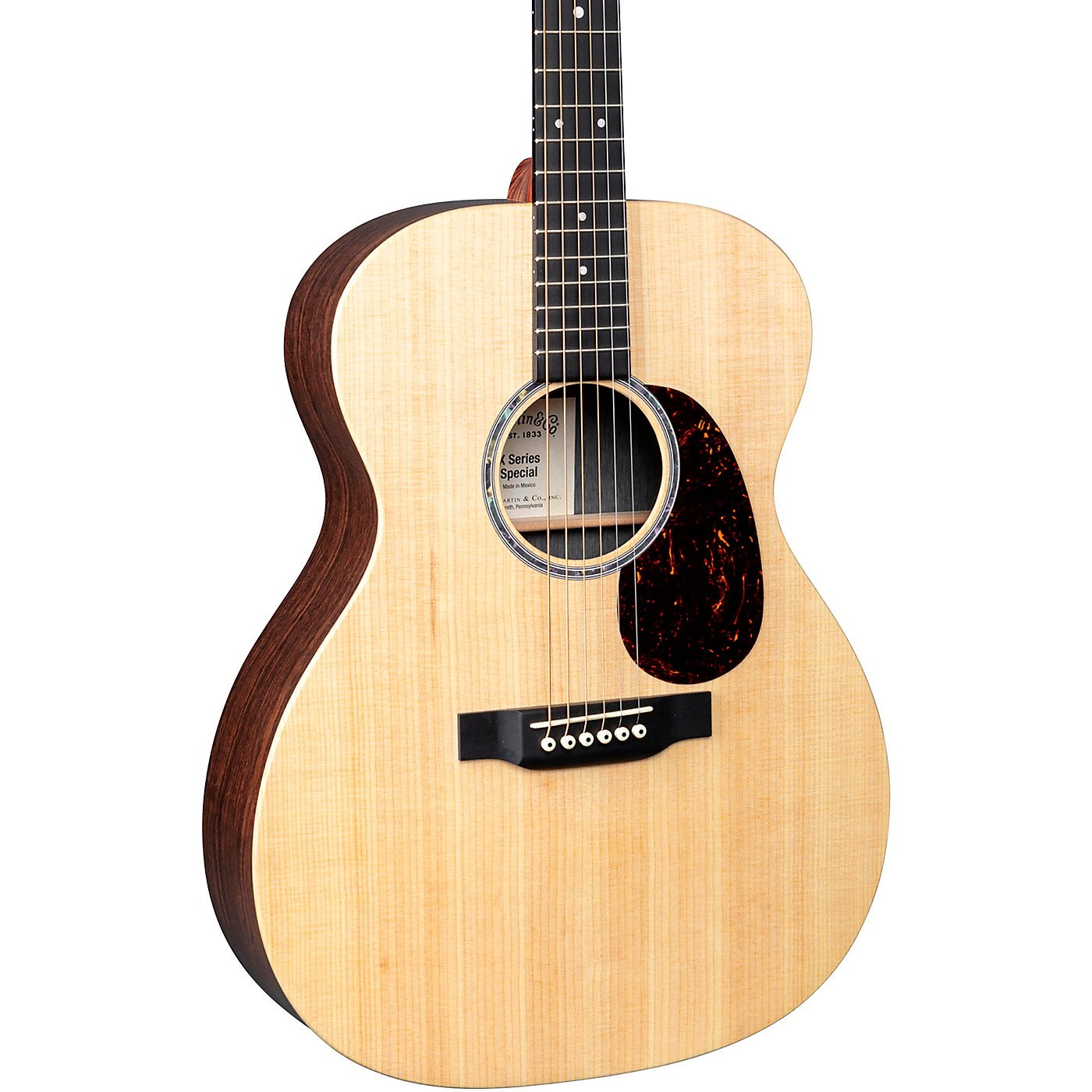 Martin Custom 000-X1AE Style Acoustic-Electric Guitar thumbnail