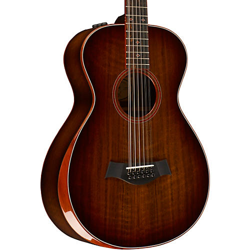 Taylor Custom #10067 12-Fret 12-String Grand Concert Acoustic-Electric Guitar thumbnail