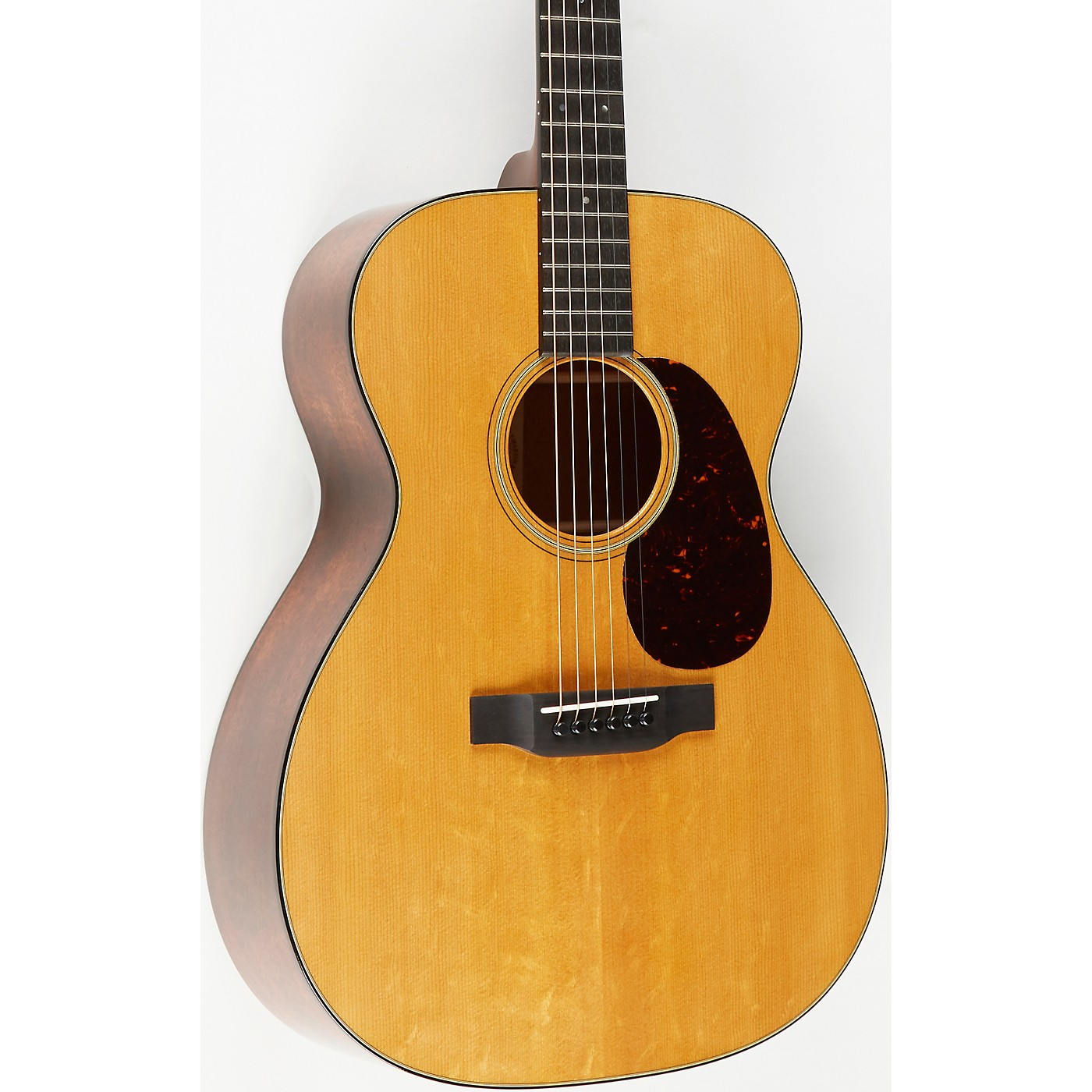Martin Custom Auditorium Flamed Mahogany With Bearclaw Top Deluxe Acoustic Guitar thumbnail