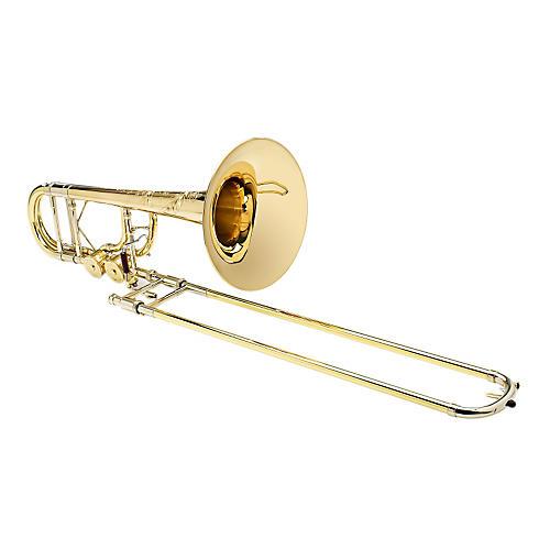 S.E. SHIRES Custom BII 7GM Bass Trombone with Tru-Bore F/Gb attachment-thumbnail