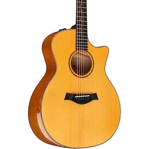 Taylor Custom Euro Maple Grand Auditorium Acoustic Electric Guitar thumbnail