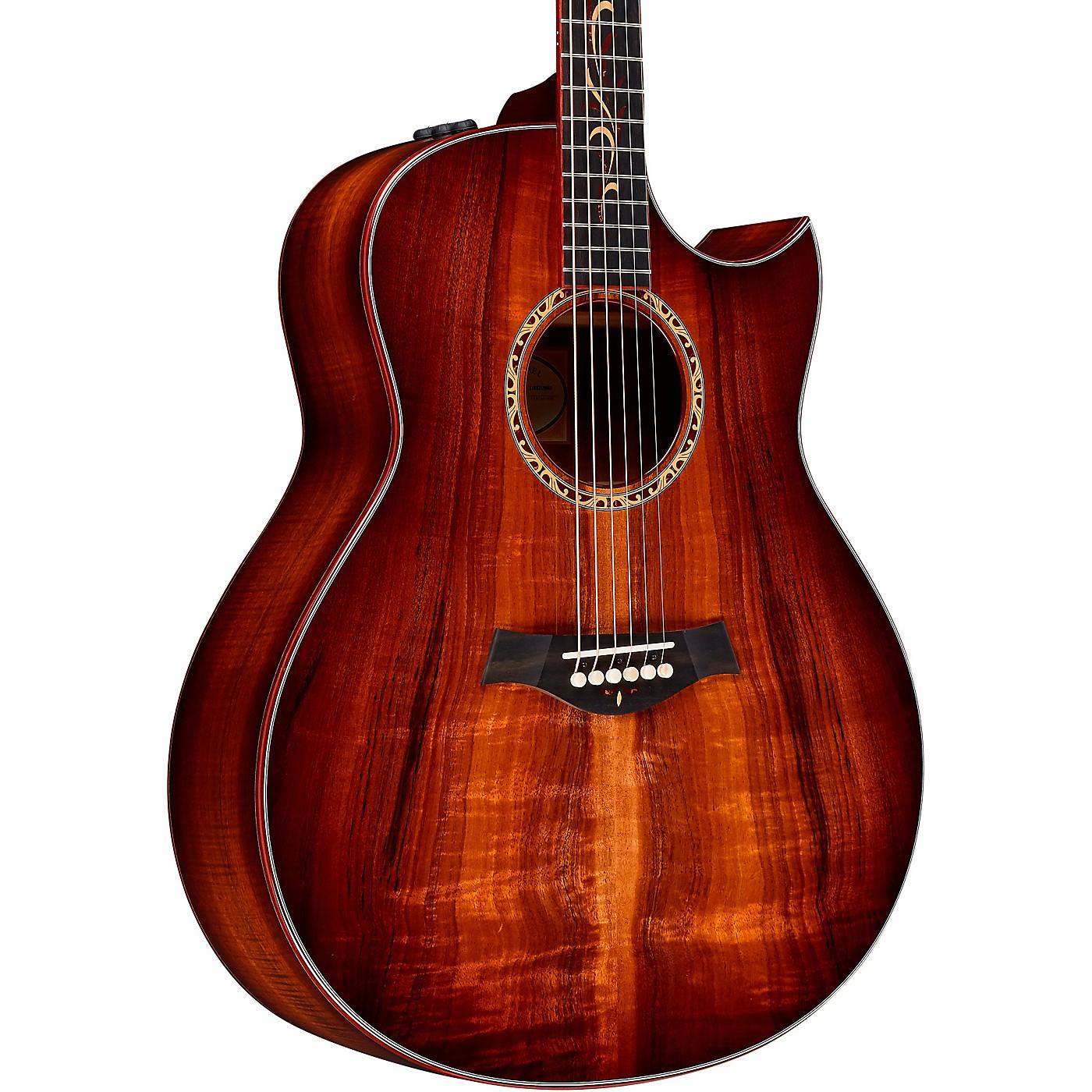 Taylor Custom Grand Orchestra #11093 A-Grade Koa Acoustic-Electric Guitar thumbnail