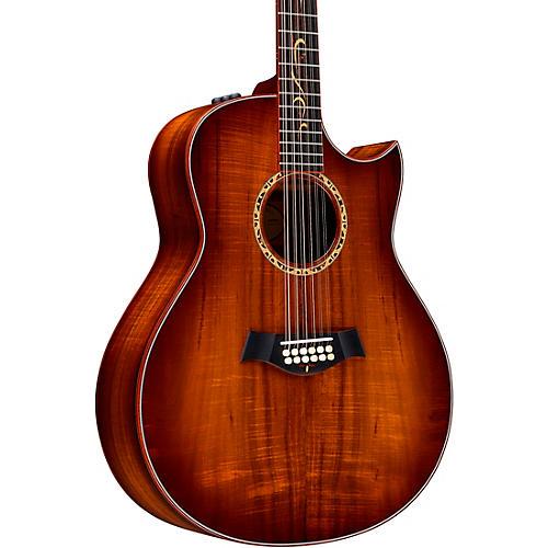 Taylor Custom Grand Orchestra 12-String #11094 A-Grade Koa Acoustic-Electric Guitar thumbnail