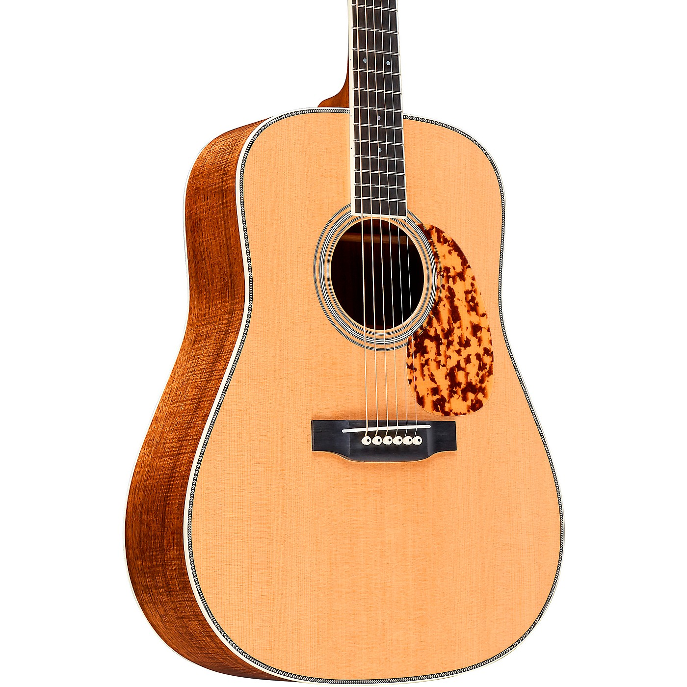 Martin Custom Highly Flamed Koa Dreadnought Acoustic Guitar thumbnail