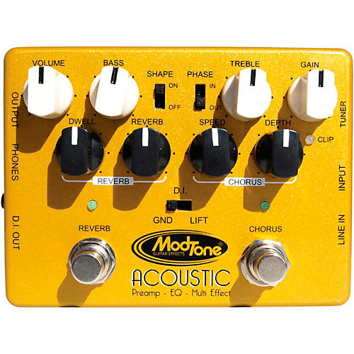 Modtone Custom Line Acoustic Preamp Pedal thumbnail