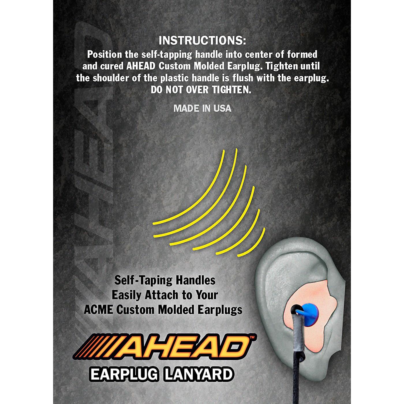 Ahead Custom Molded Earplug Lanyard thumbnail