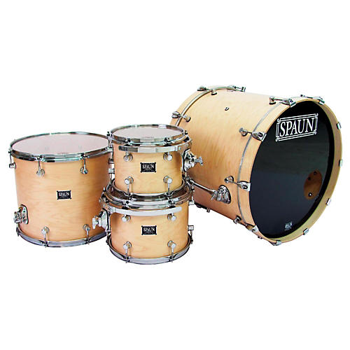 Spaun Custom Series 4-Piece Maple Shell Pack thumbnail