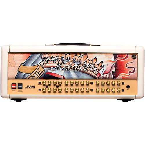 Marshall Custom Tattoo JVM410H Emily Wood 100W Tube Guitar Head thumbnail
