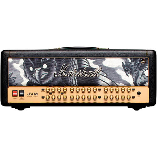 Marshall Custom Tattoo JVM410H Phil Kyle 100W Tube Guitar Head thumbnail