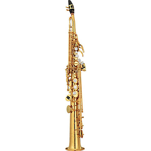 Yamaha Custom YSS-82Z Series Professional Soprano Saxophone with Curved Neck thumbnail