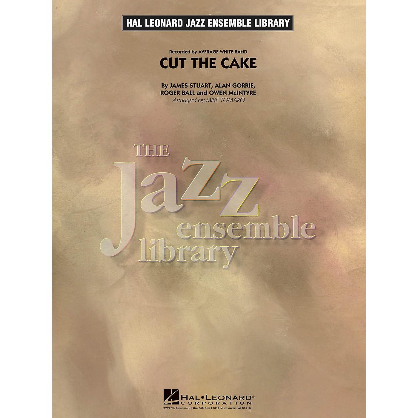 Hal Leonard Cut the Cake Jazz Band Level 4 Arranged by Mike Tomaro thumbnail