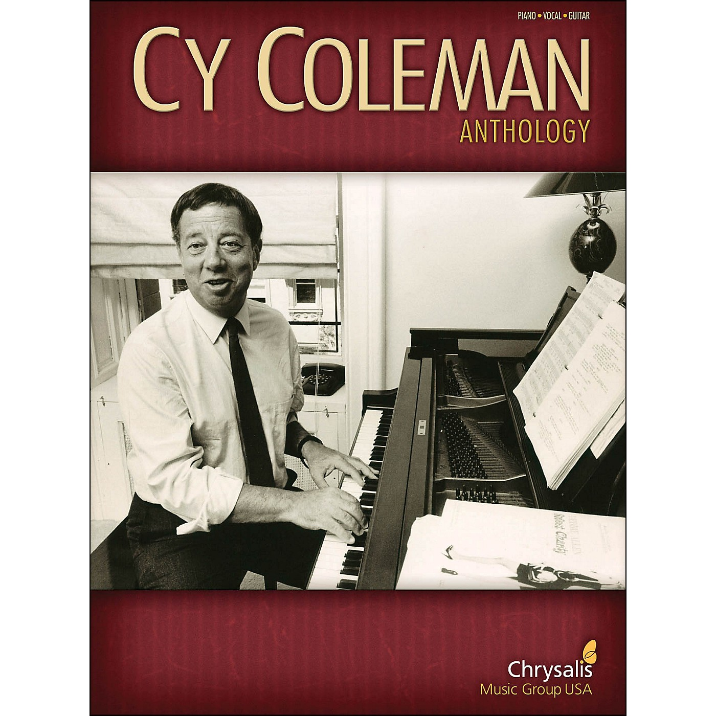Hal Leonard Cy Coleman Anthology arranged for piano, vocal, and guitar (P/V/G) thumbnail