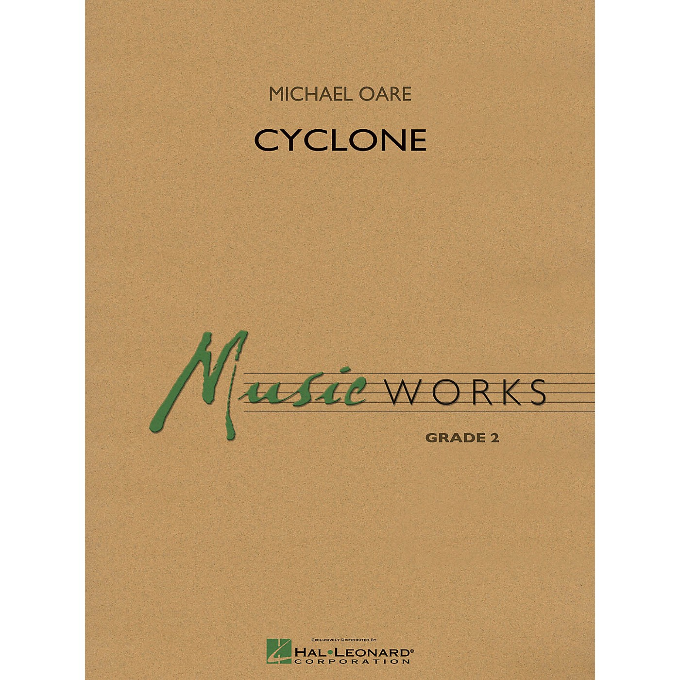 Hal Leonard Cyclone Concert Band Level 2 Composed by Michael Oare thumbnail