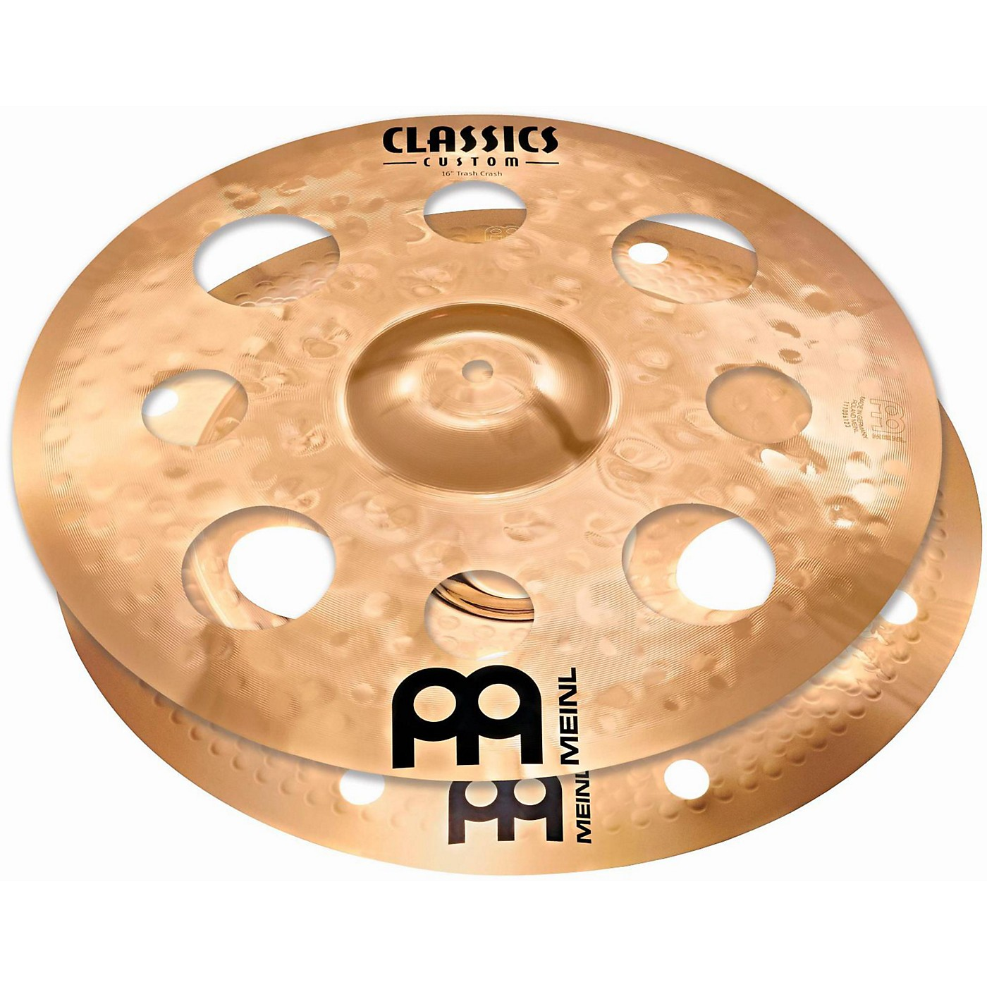 Meinl Cymbal Stack Pair with Trash Crash and Trash China thumbnail