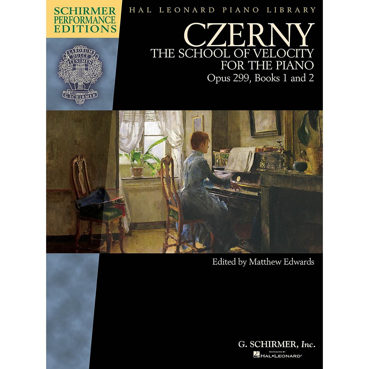 G. Schirmer Czerny - School of Velocity, Op. 299 Schirmer Performance Editions by Czerny Edited by Matthew Edwards thumbnail