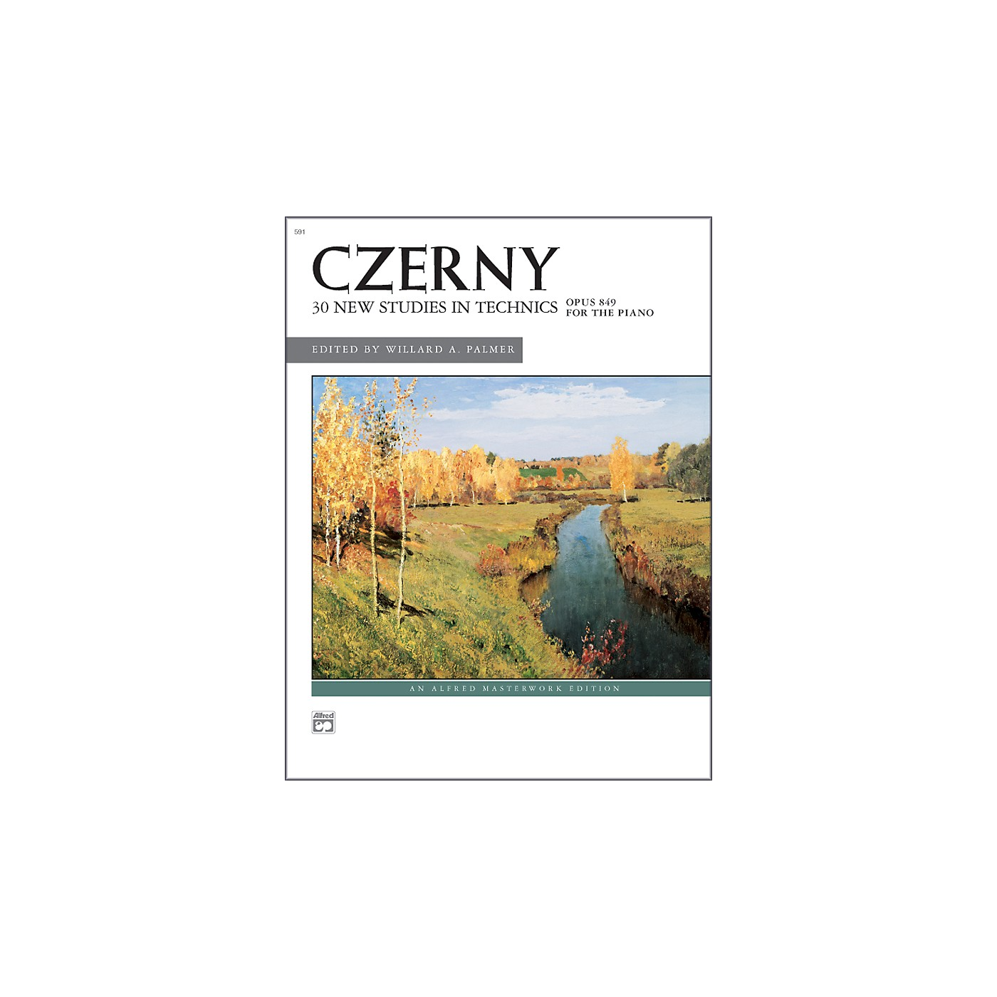 Alfred Czerny 30 New Studies in Technique Op. 849 Advanced Piano thumbnail