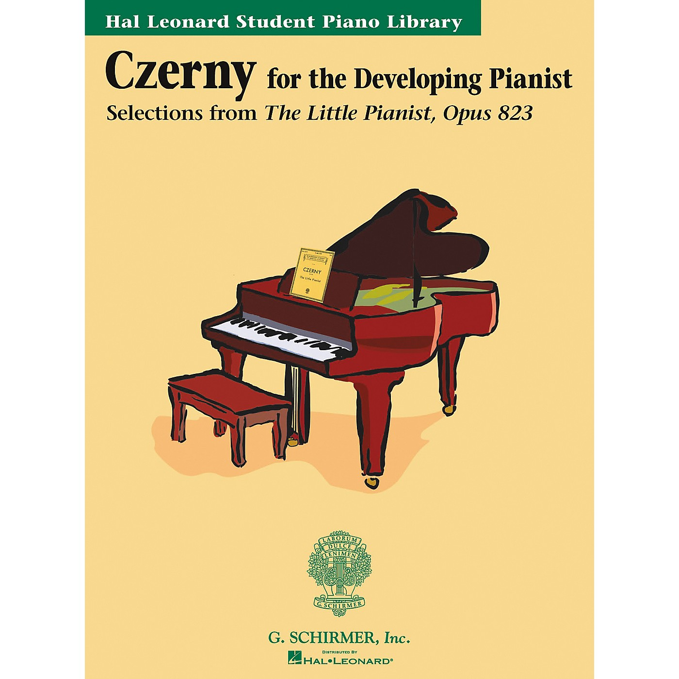 G. Schirmer Czerny Book Only Selections From The Little Pianist Opus 823 Hal Leonard Student Piano Library thumbnail