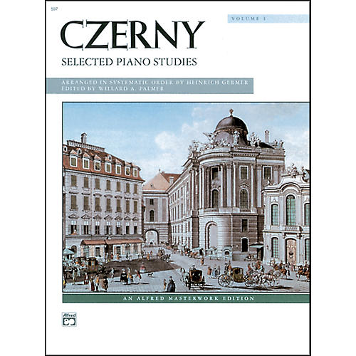 Alfred Czerny Selected Piano Studies Volume 1 thumbnail