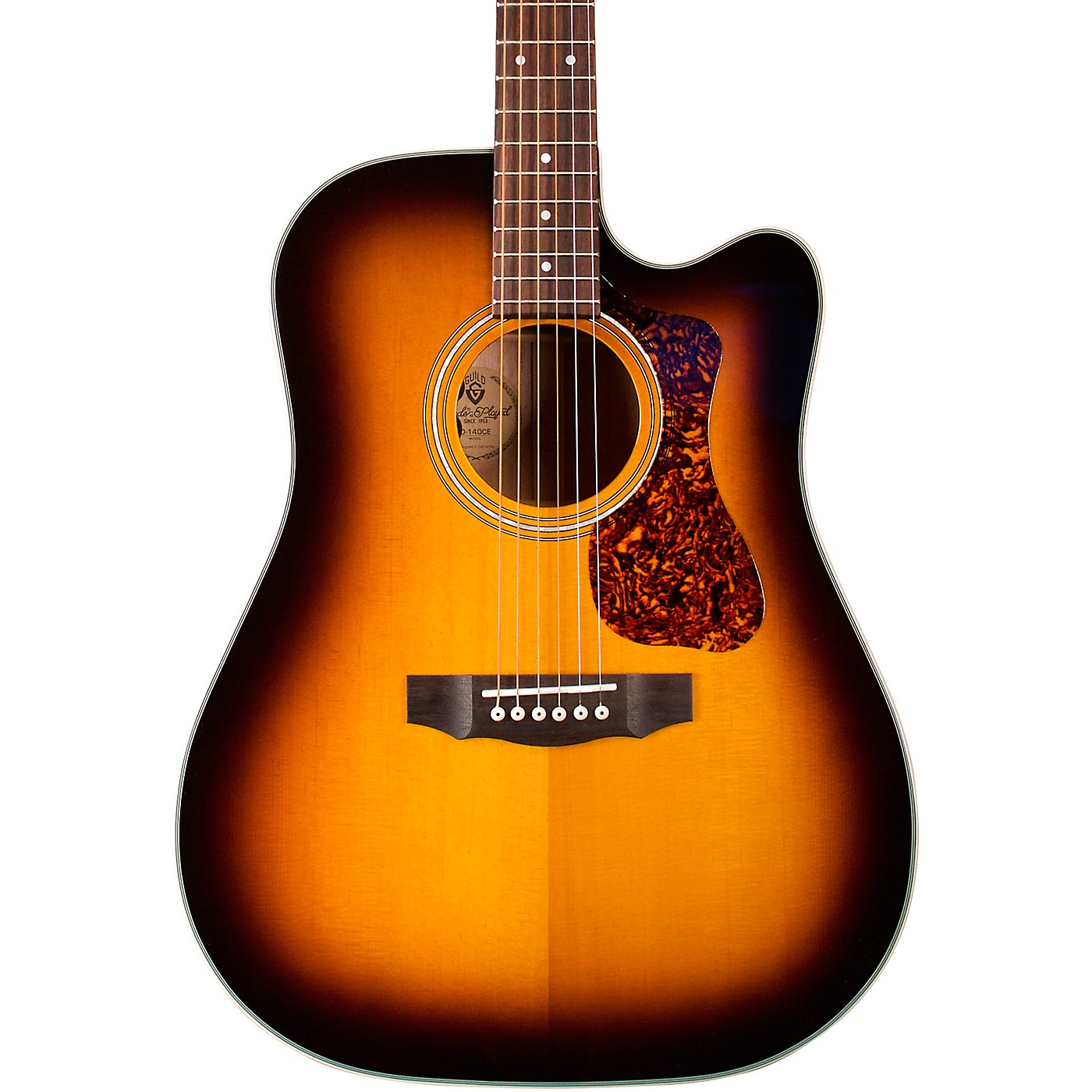 Guild D-140CE Westerly Collection Dreadnought Acoustic-Electric Guitar thumbnail