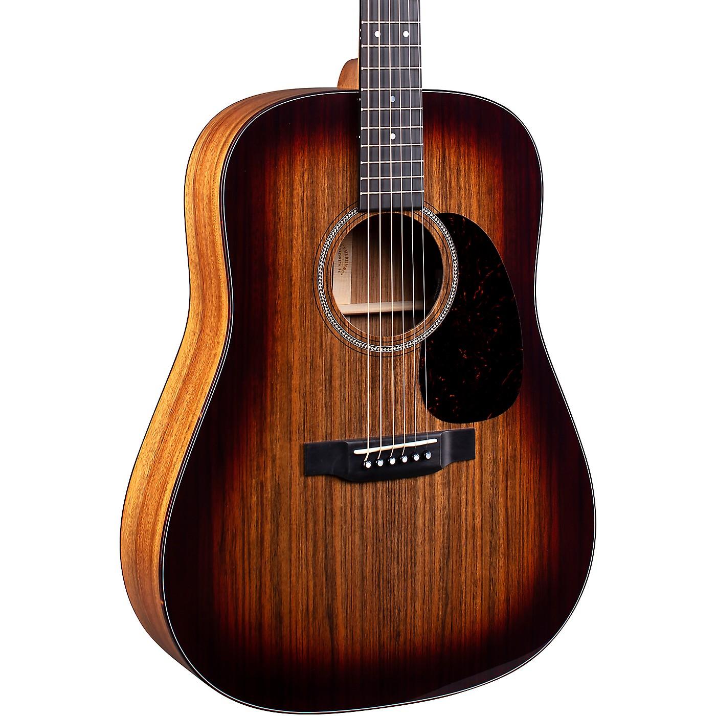 Martin D-16E 16 Series Ovangkol Burst Acoustic-Electric Guitar thumbnail