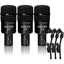 Audix D-2 Dynamic Microphone 3-Pack