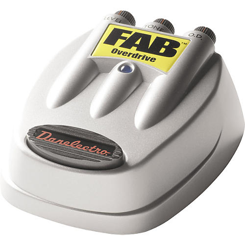 Danelectro D-2 FAB Overdrive Guitar Effects Pedal thumbnail
