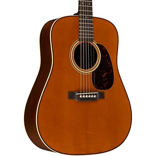 Martin D-28 Authentic 1937 VTS AGED Dreadnought Acoustic Guitar-thumbnail