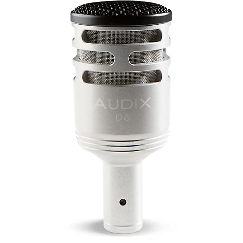 Audix D-6 Sub Impulse Kick Microphone - Brushed Aluminum Special Edition thumbnail