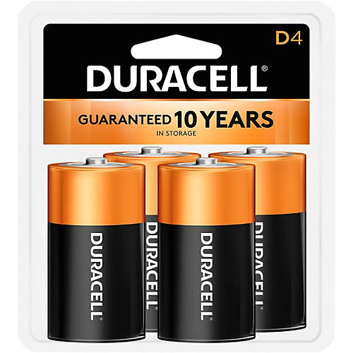 Duracell D Batteries 4-Pack thumbnail