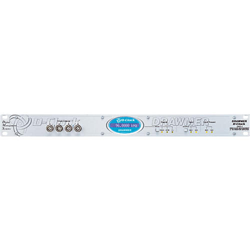 Drawmer D Clock Word Clock Measurement and Distribution Amp thumbnail