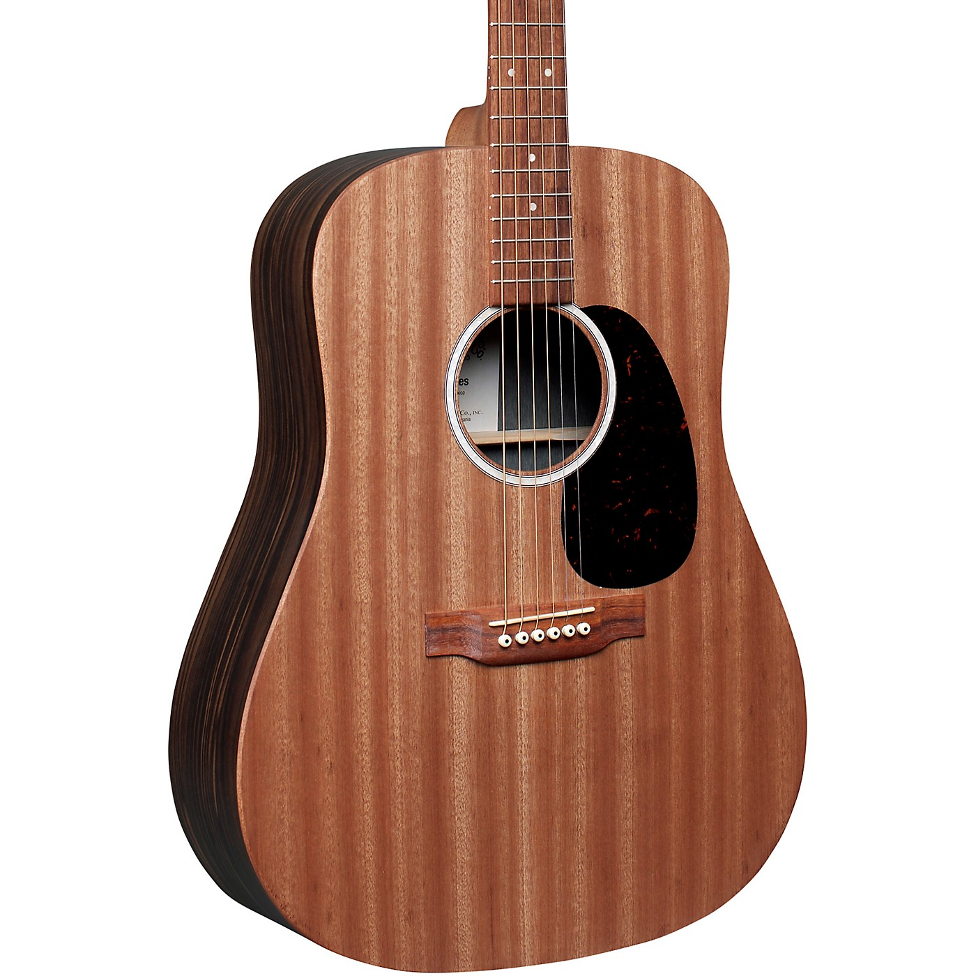 Martin D-X2E Sapele Macassar Ebony Dreadnought Acoustic-Electric Guitar thumbnail