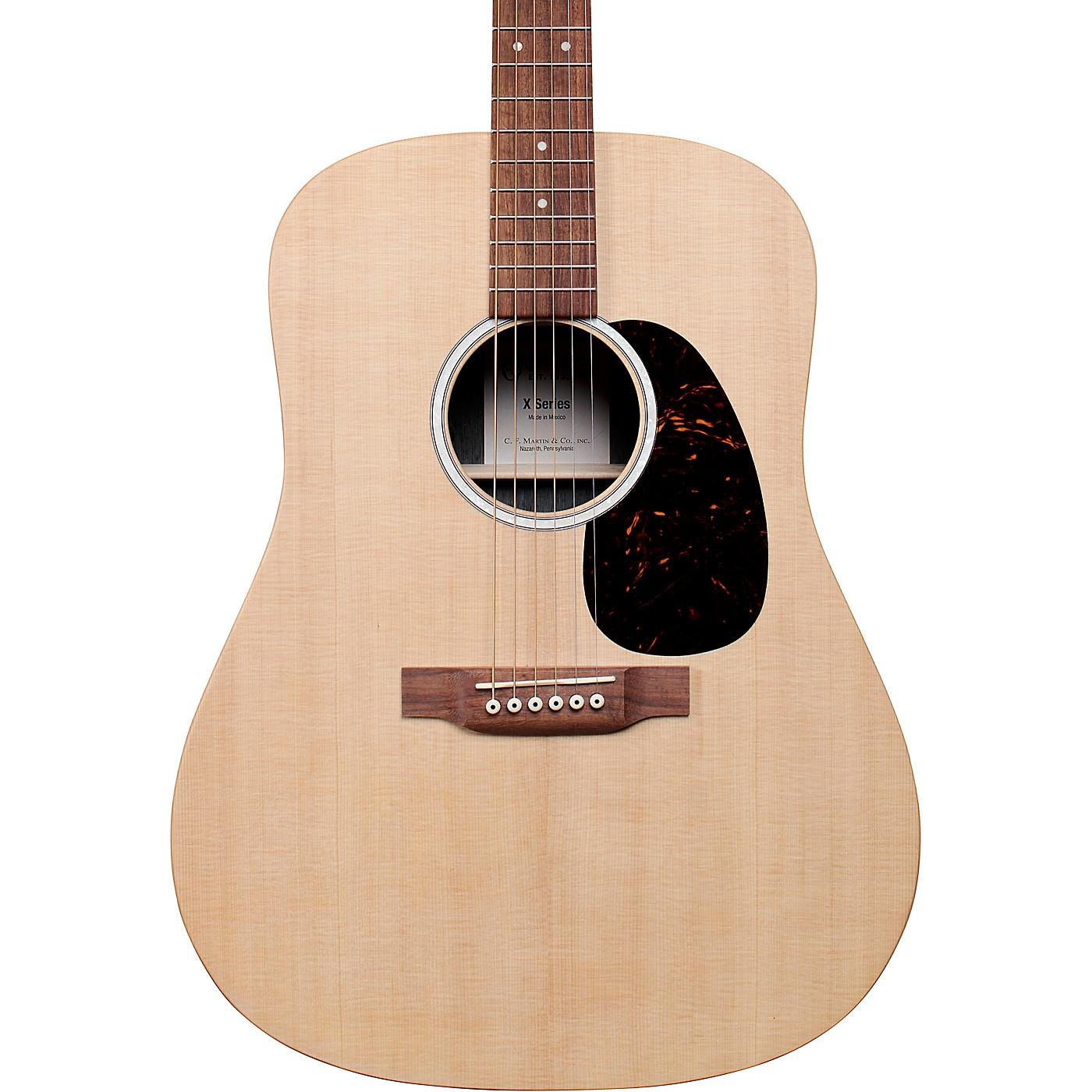 Martin D-X2E Sitka Spruce Mahogany Dreadnought Acoustic-Electric Guitar thumbnail