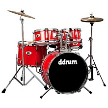 Ddrum D1 5-Piece Junior Drum Set with Cymbals