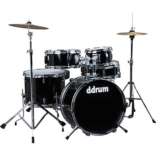 Ddrum D1 5-Piece Junior Drum Set with Cymbals thumbnail