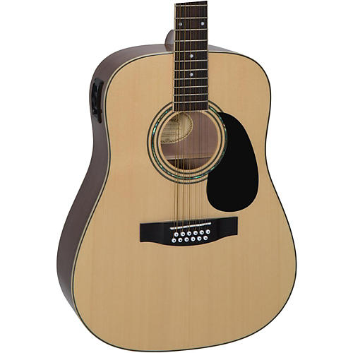 Mitchell D120S12E 12-String Dreadnought Acoustic-Electric Guitar thumbnail
