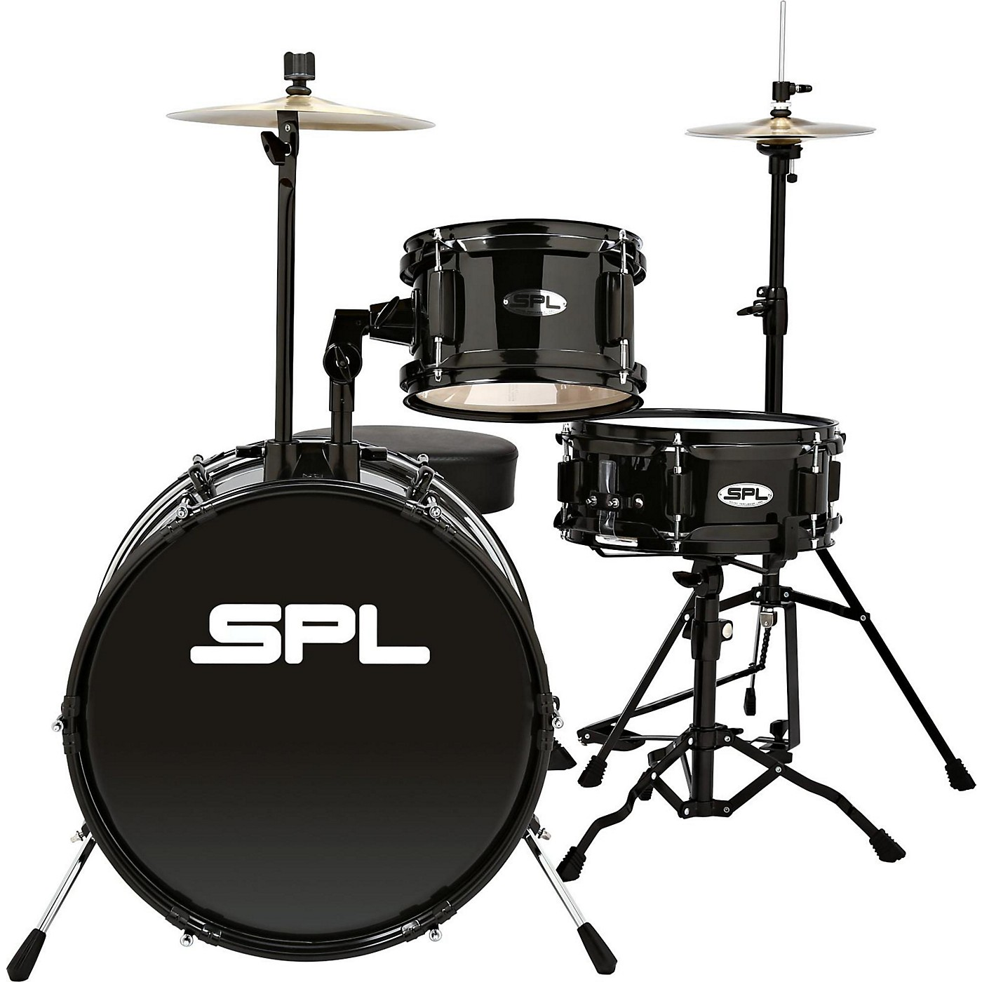 Sound Percussion Labs D1316 Lil Kicker 3-Piece Drum Kit With Throne thumbnail