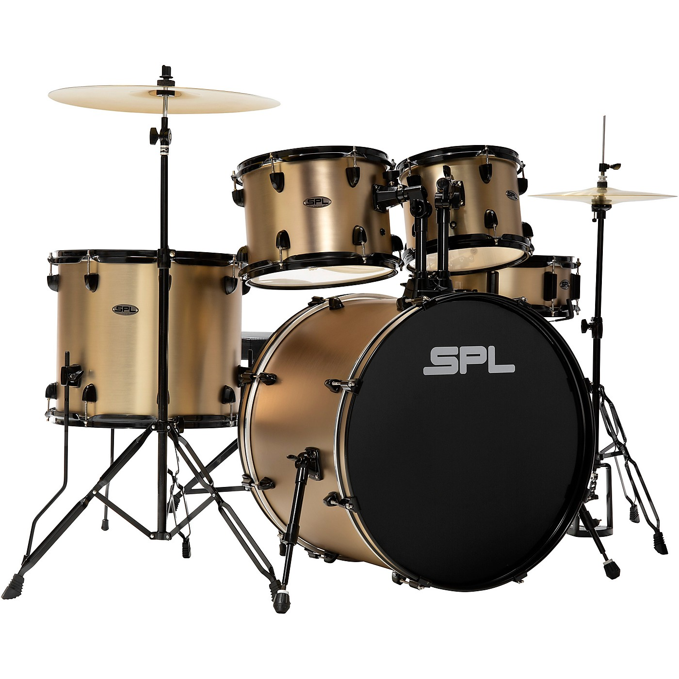 Sound Percussion Labs D4522CPS 5-Piece Champagne Satin Unity Drum Kit thumbnail