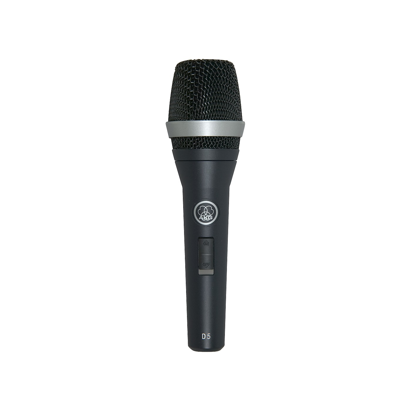 AKG D5 S Supercardioid Dynamic Vocal Microphone with On/Off Switch thumbnail