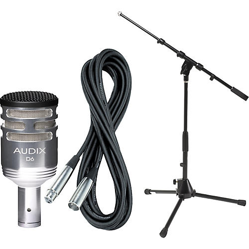 Audix D6 Limited Edition Kick Drum Mic with Cable and Stand thumbnail