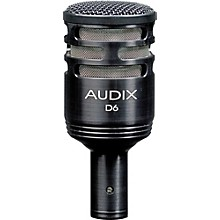 Audix D6 Sub Impulse Kick Drum Mic