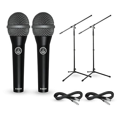 AKG D8000M with Cable and Stand 2 Pack thumbnail