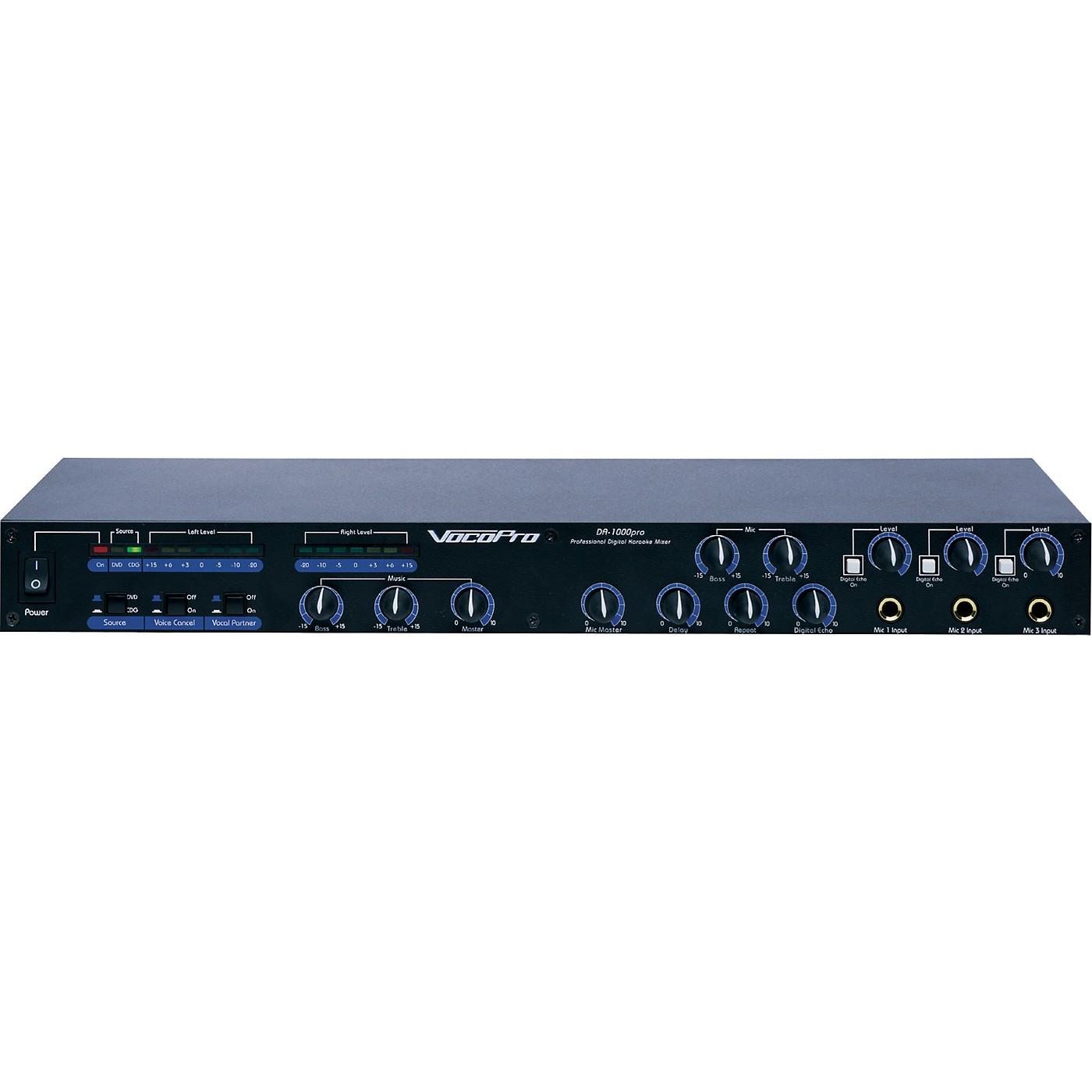 Vocopro DA-1000PRO 3-Channel Karaoke Mixer thumbnail