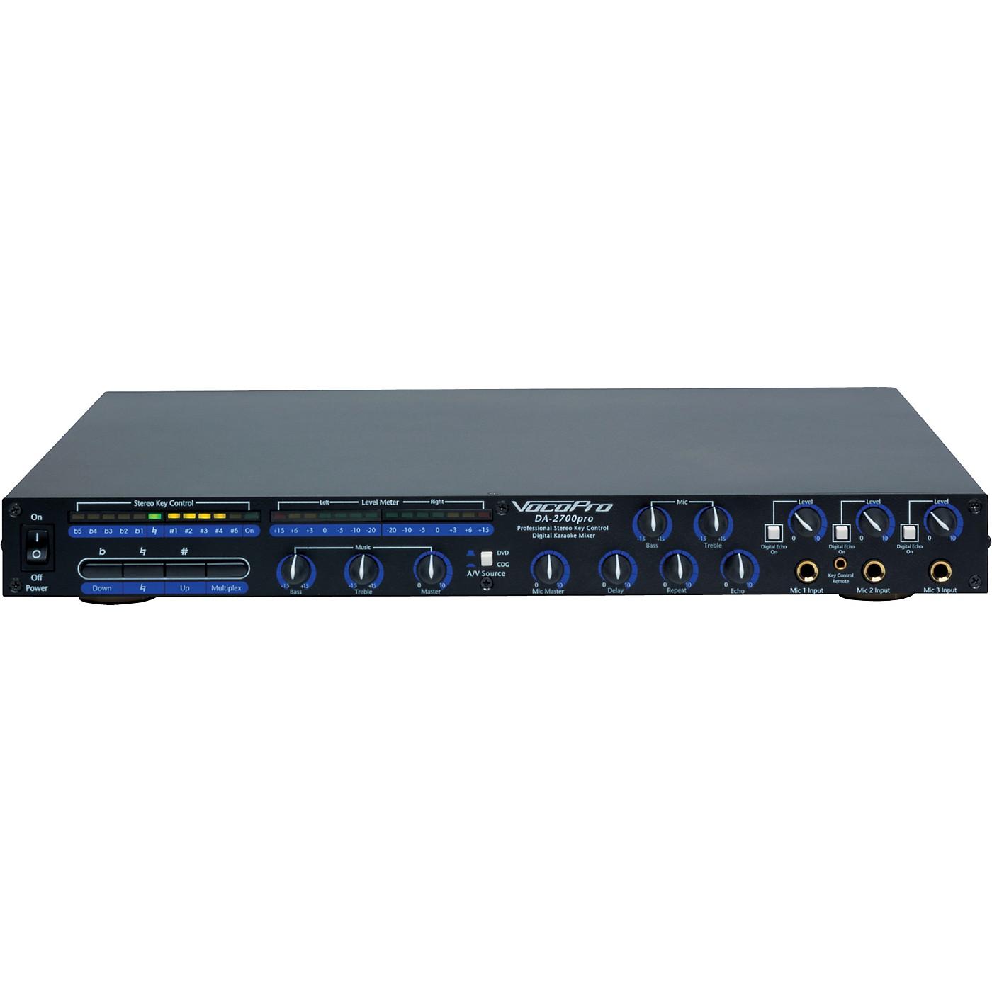 VocoPro DA-2200PRO Key Control Karaoke Mixer thumbnail