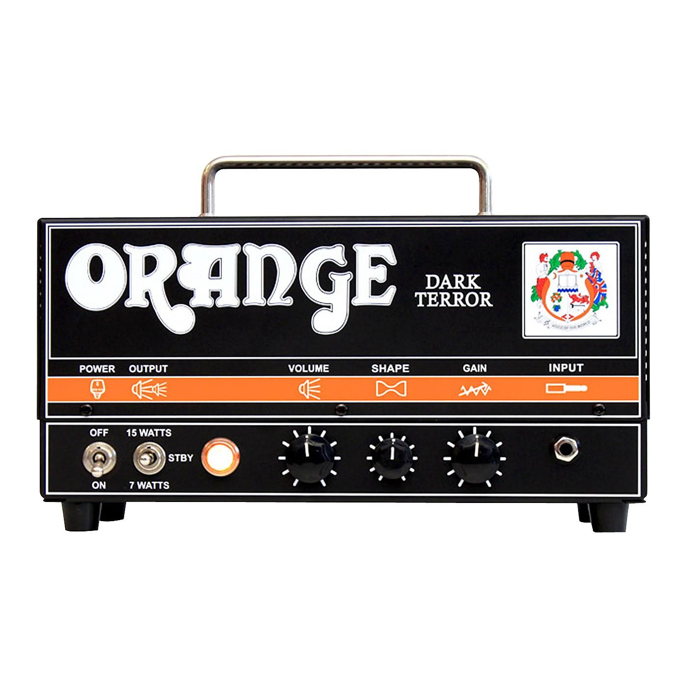 Orange Amplifiers DA15H Dark Terror 15 15W Tube Guitar Amp Head thumbnail
