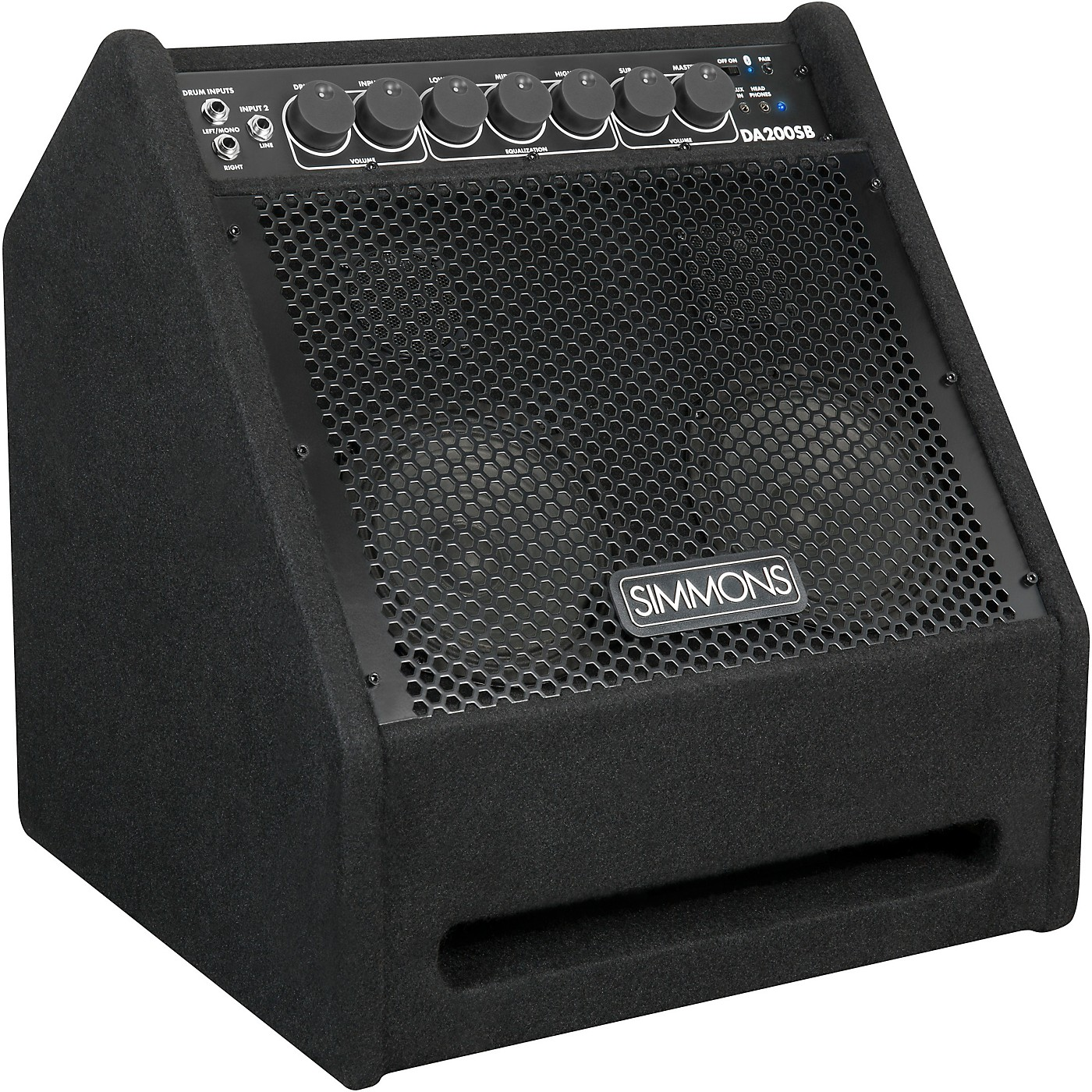Simmons DA200SB Electronic Drum Set Monitor With Bluetooth thumbnail