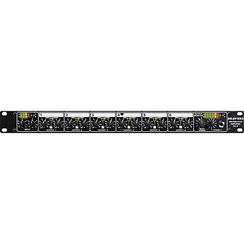 Drawmer DA6 Balanced Distribution Amplifier thumbnail