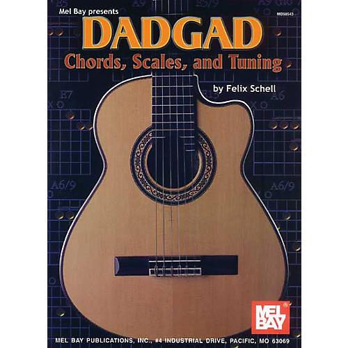 Mel Bay DADGAD Chords, Scales, and Tuning Book thumbnail